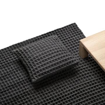 Objekten - Waffle Cushion, Rug, dark grey