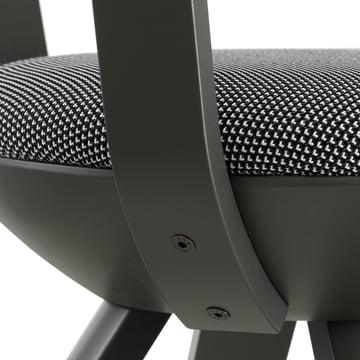 Artek - KG001 / KG002 Rival Chair black, black / white