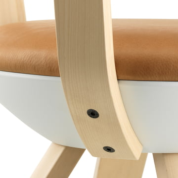 Artek - KG001 / KG002 Rival Chair birch, white, rivallow