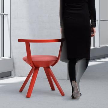 Artek - KG001 Rival Chair, red