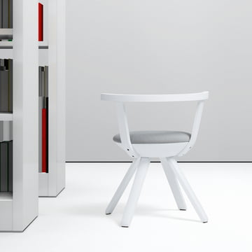 Artek - KG 001 Rival Chair Low white, white, black/ white