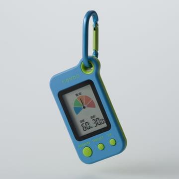 Mondo - Heat, portable heatstroke meter (DH02), blue