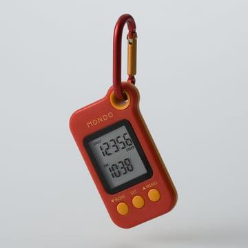 Mondo - Step, 3D-Sensor Pedometer (DP01), red