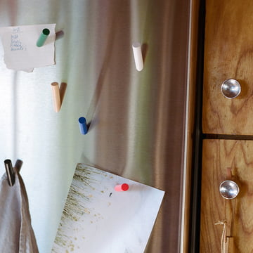 areaware - Stick-Up Magnets, beech