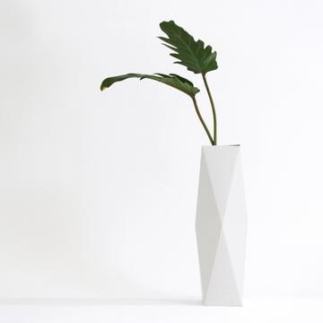 snug.vase high by Snug.studio in white