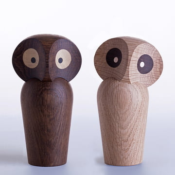 ArchitectMade - Owl Large, natural and smoked