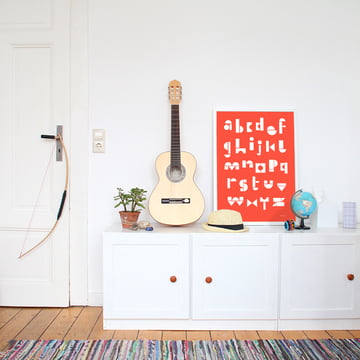 Snug - snug.abc Poster, tomato