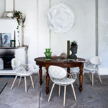 Magis - Piña Chair, ash natural / white