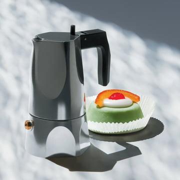 Alessi - MT18 Ossidiana espresso machine