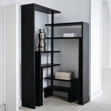 Zanotta - Joy Rotating Shelf Unit -corner