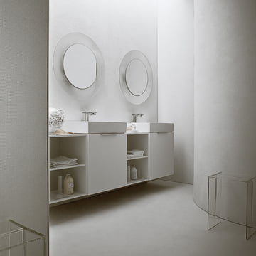 Kartell - All Saints Mirror, transparent crystal