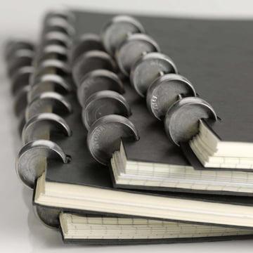 Atoma - Classic Alu Notebook, black