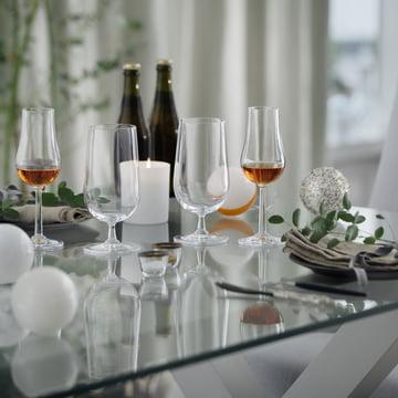 Stylish pleasure guaranteed - with the Rosendahl Grand Cru liqueur glasses in the set of 2.