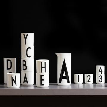 Versatile porcelain products by Design Letters