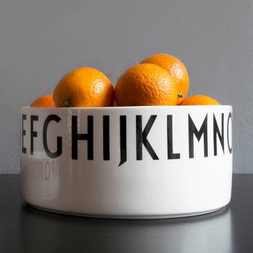 Design Letters - AJ Porcelain Decoration Bowl large, with oranges