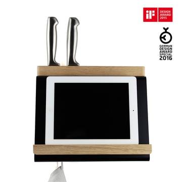 Multi-functional tablet holder for the kitchen