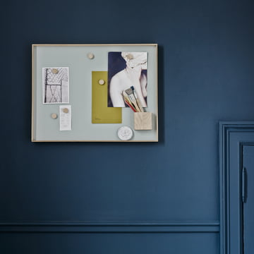 Bulletin board as wall decoration