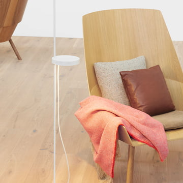 Wood and fabric - a cosy combination