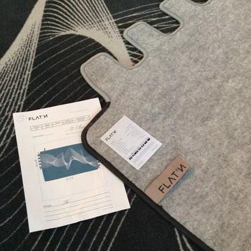 High-quality felt fabric