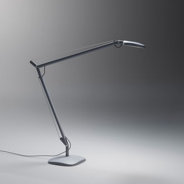 FontanaArte - Volée table lamp with foot in dark grey