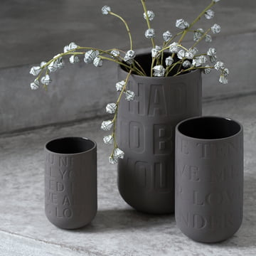 Ceramic vases in three sizes