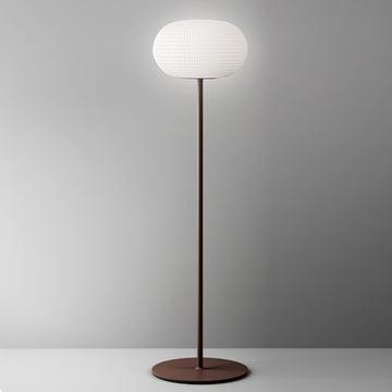 Bianca floor lamp by FontanaArte in white