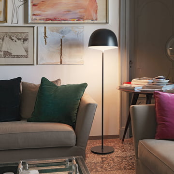 Cheshire floor lamp for indirect illumination
