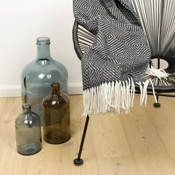 Retro glass vases by Novoform