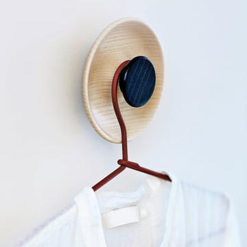Norrmade - Double coat hook, natural