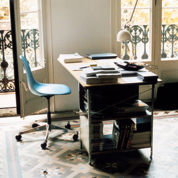 The Eames desk unit by Vitra