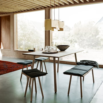 Skagerak - Georg Dining Table in oak