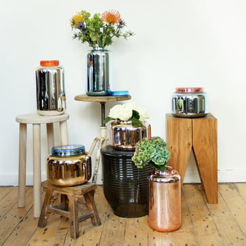 Container vases by Pulpo: