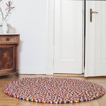 Lotte carpet round by myfelt: