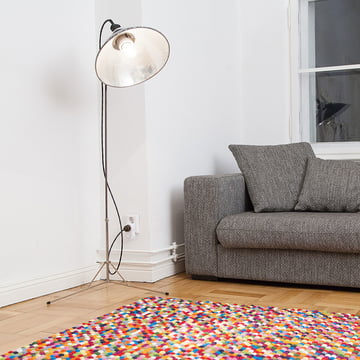Lotte rug rectangular by myfelt