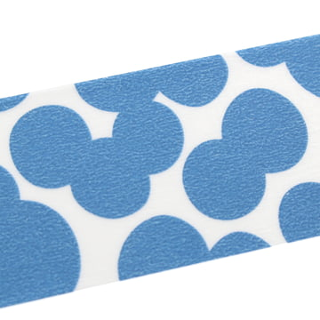 Masking tape mit Soda Water Blue pattern