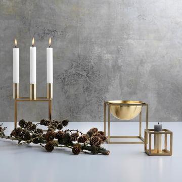 by Lassen - Kubus 4 / Kubus 1 / Kubus bowl, brass