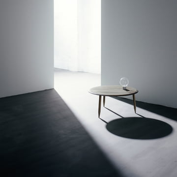 Marble Light pendant light and Hoof side table by &Tradition