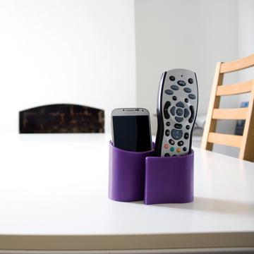 Snug tidy storage of j-me in purple