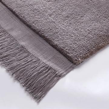 Woolen rug with fringes