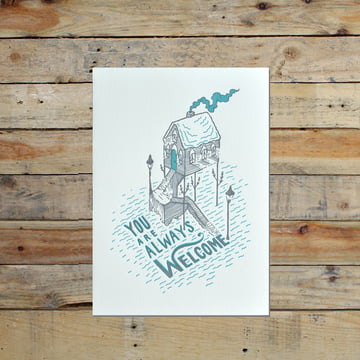 Artist series greeting cards from Holstee
