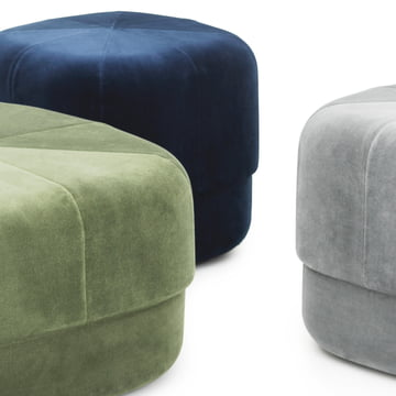 the large circus pouf by normann copenhagen. Black Bedroom Furniture Sets. Home Design Ideas