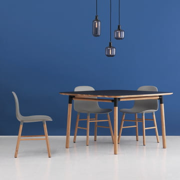 Form table 120 x 120 cm by Normann Copenhagen