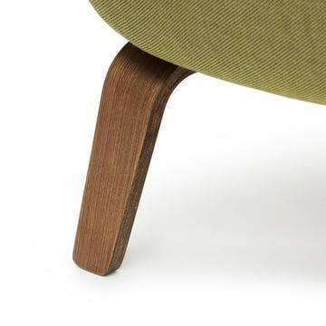Era Sofa made form walnut wood by Normann Copenhagen