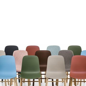 Colour variants of the Sharky Chair