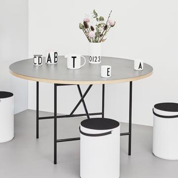 Vase 0-9 by Design Letters