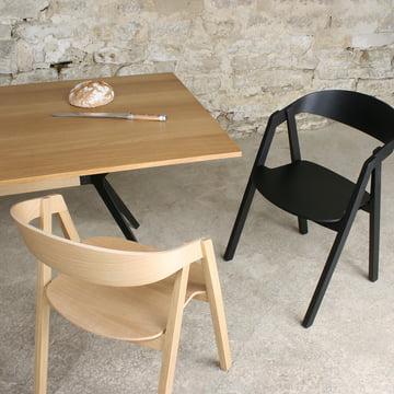 Maigrau - Nardo chair, oak natural/ ash black