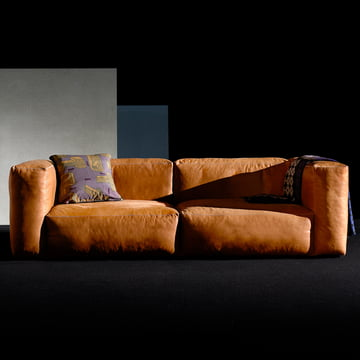 The Hey Mags Soft sofa in Cognac leather