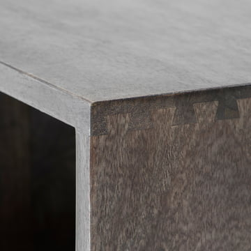 Box System by Mater in stained sirka grey