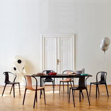 Belleville dining table (160 x 75 cm)