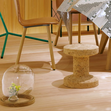 Vitra - Cork Family - Lounge Chair - Eames Occasional Table